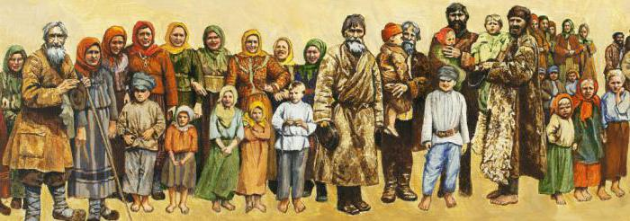 legal status of the population in Russian truth briefly