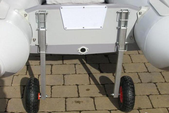 Транцевые колеса для лодок пвх своими руками схема