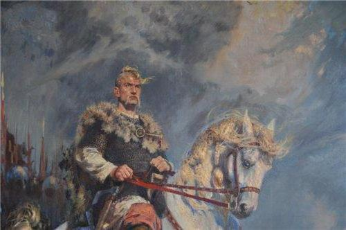 the image of Svyatoslav in the word about the regiment of Igor