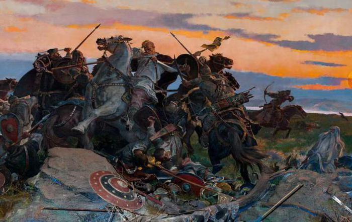what Svyatoslav in the word about the regiment of Igor