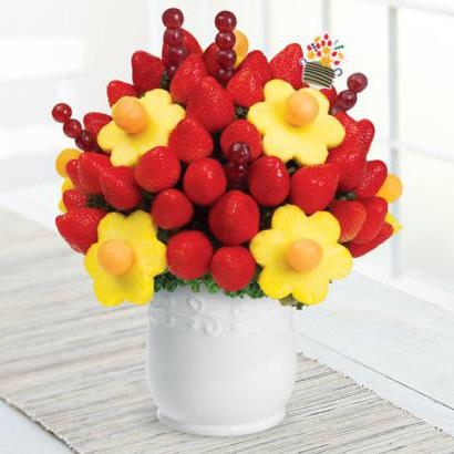 make a bouquet of fruit do it yourself step by step