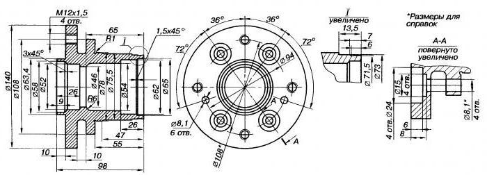 2058730 - Ступица заднего колеса фото
