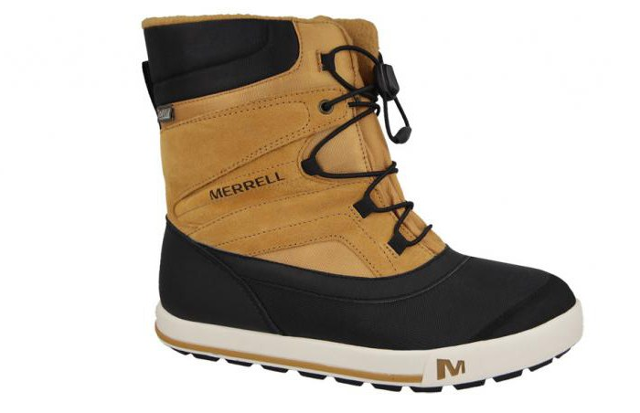 Reviews about winter shoes company Merrell