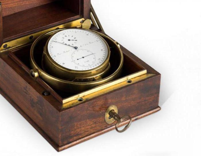 what is a chronometer