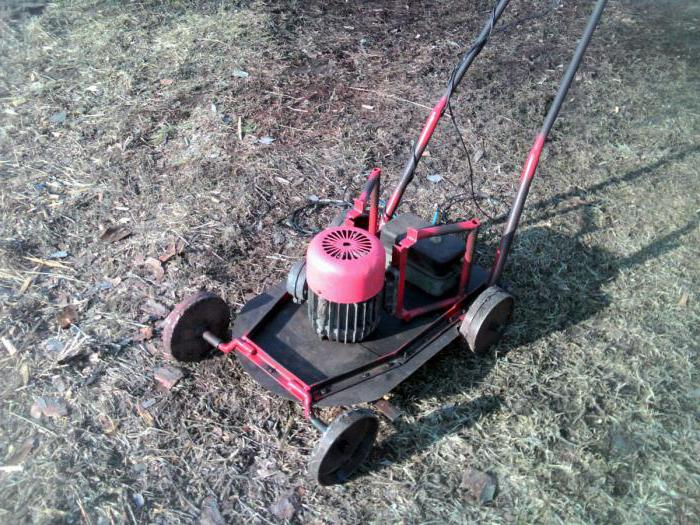 homemade mower
