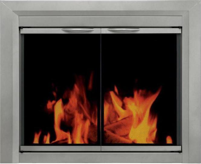 oven door with glass