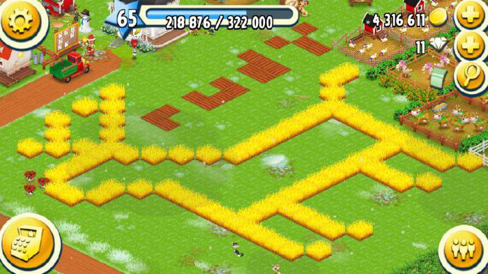 hay day a lot of diamonds
