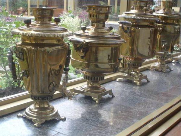 restoration of samovars in tula