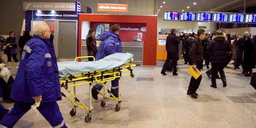 terrorist attack in Domodedovo