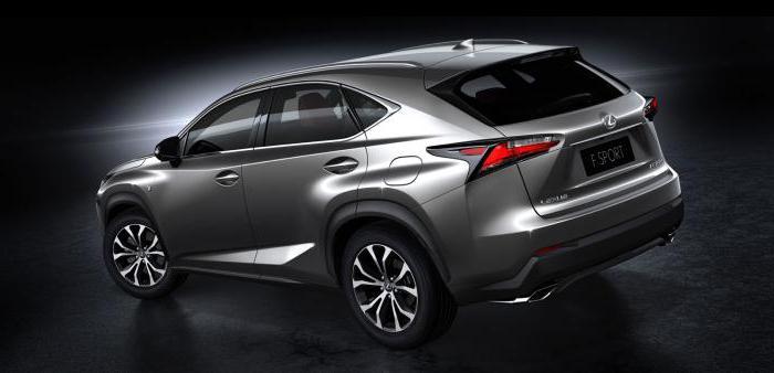 cost Lexus nx 200