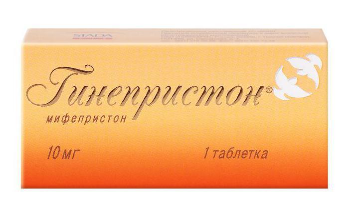 """Препарат для прерывания беременности """"Гинепристон"""": отзывы, особенности применения и состав"""
