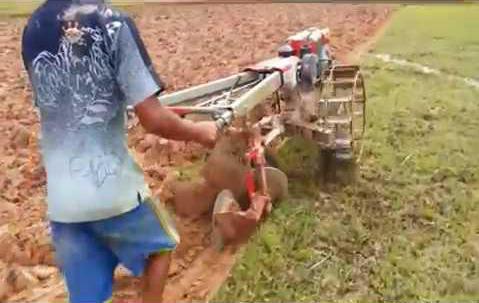 plow for motoblock