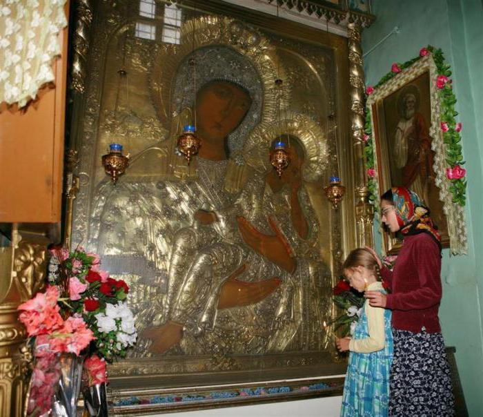 Akathist to the old Russian icon of the Mother of God