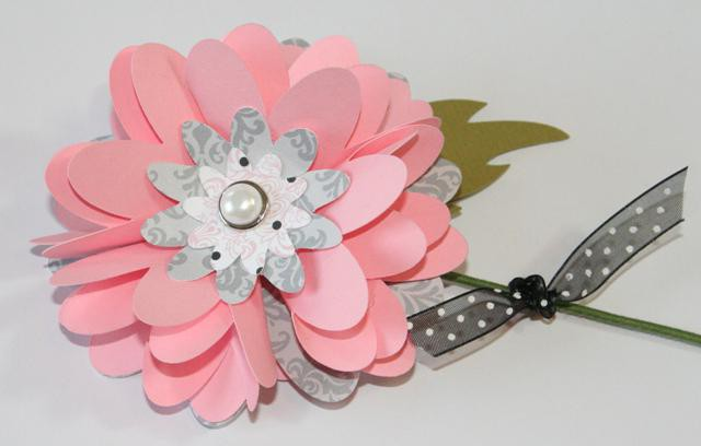 make a bouquet of flowers from paper do it yourself