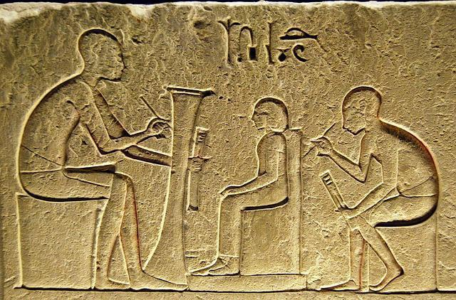 who collected taxes in ancient Egypt
