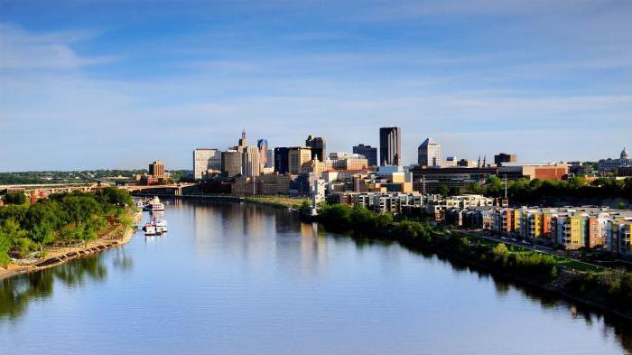 Северная Америка реки и озера