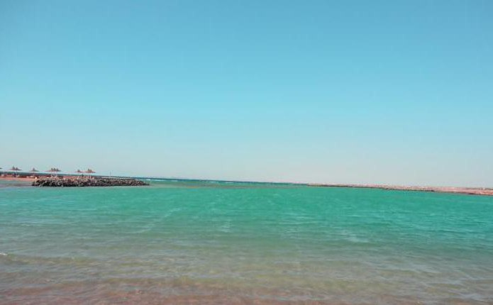 coral beach hurghada resort пляж