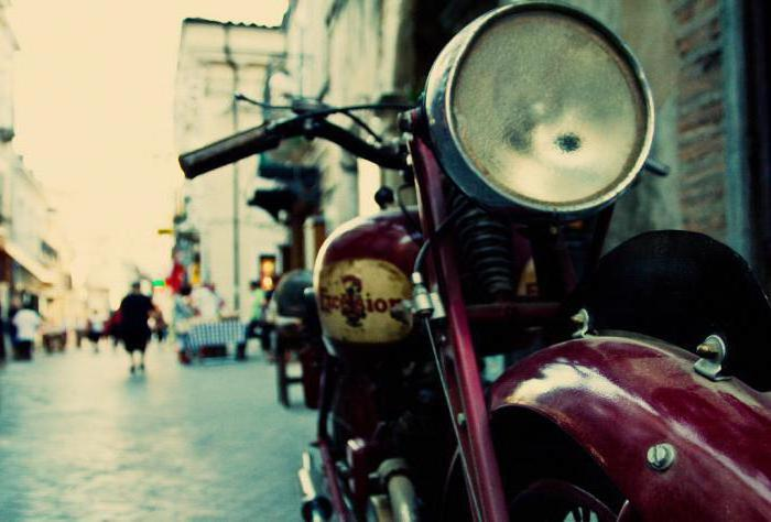 goods for motorcycle tourism