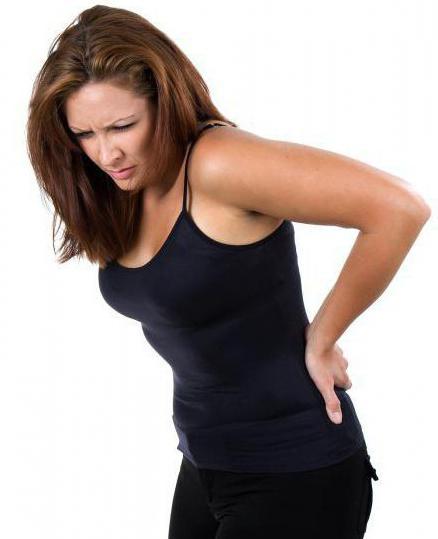 Почему перед месячными болит поясница причины боли в низу живота