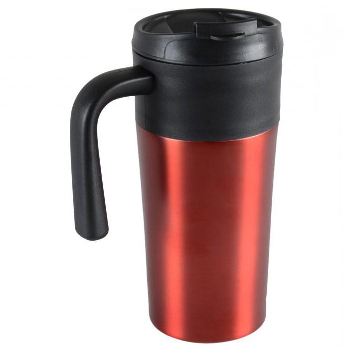 thermomug with a lid