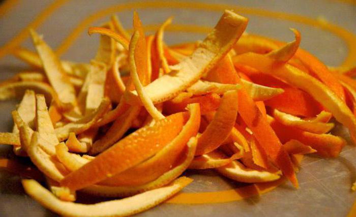 сушеные апельсиновые корки применение рецепты