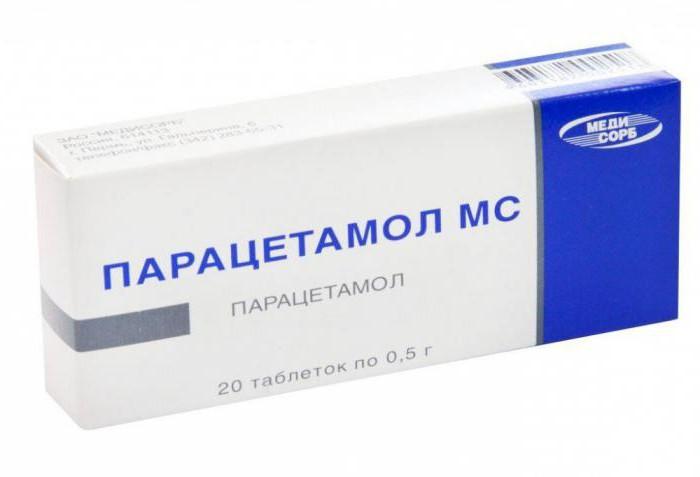 """""""Парацетамол МС"""": инструкция по применению, показания, состав"""