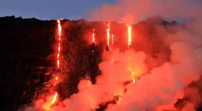 fire-breathing and dangerous Kilaua volcano
