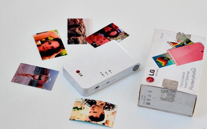 Карманный принтер LG. Описание, характеристики, возможности