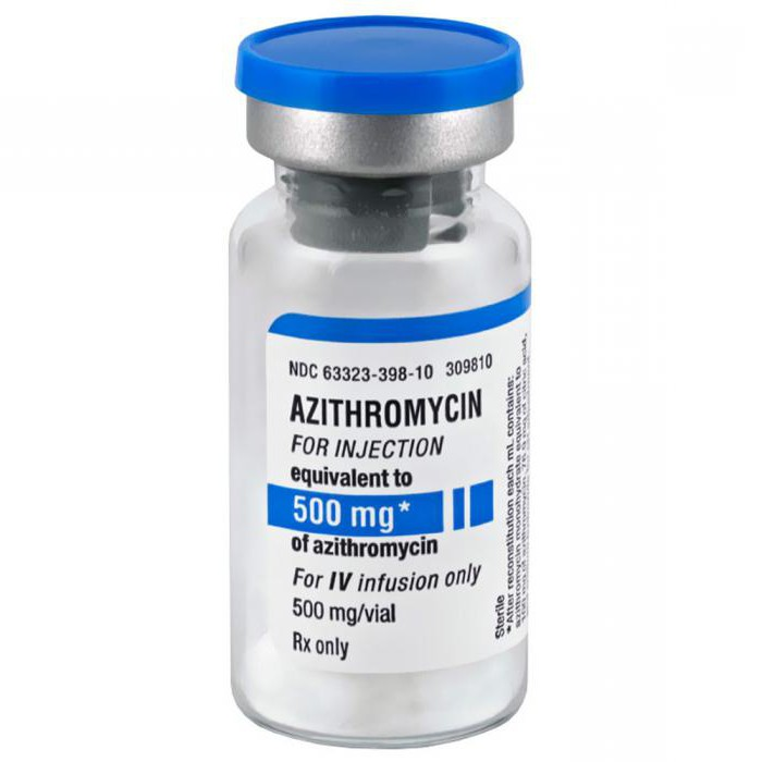 azithromycin from what