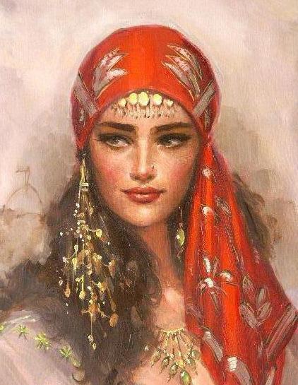 народный костюм цыган