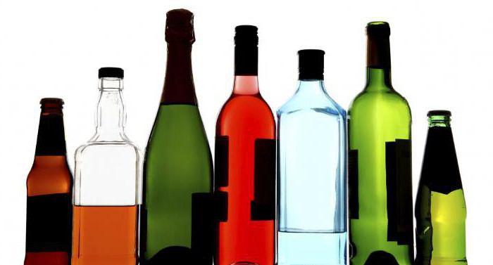 виды алкогольных спиртов