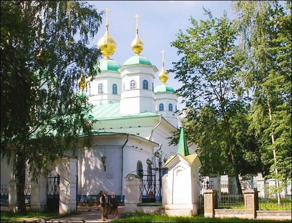 Resurrection Cathedral Cherepovets