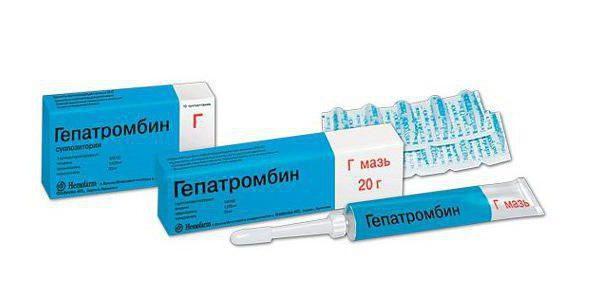 гепатромбин мазь инструкция