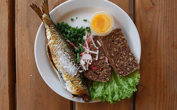 Scandinavian diet menu for every day
