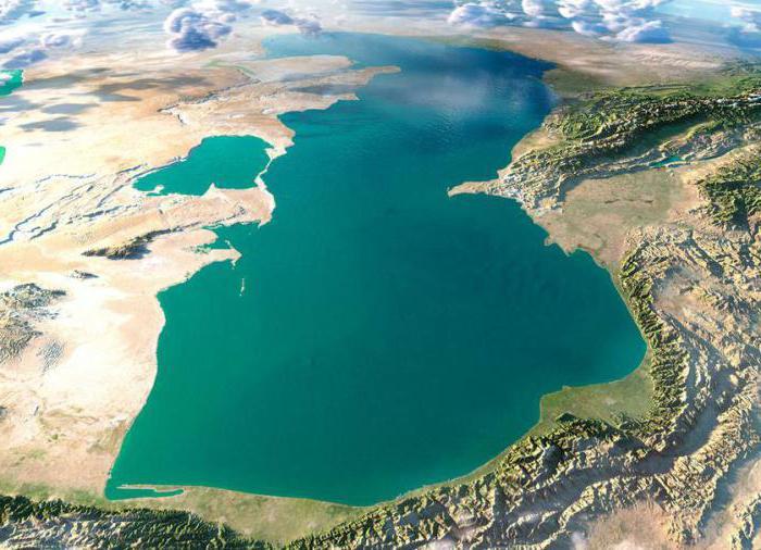Реки впадающие в Каспийское море
