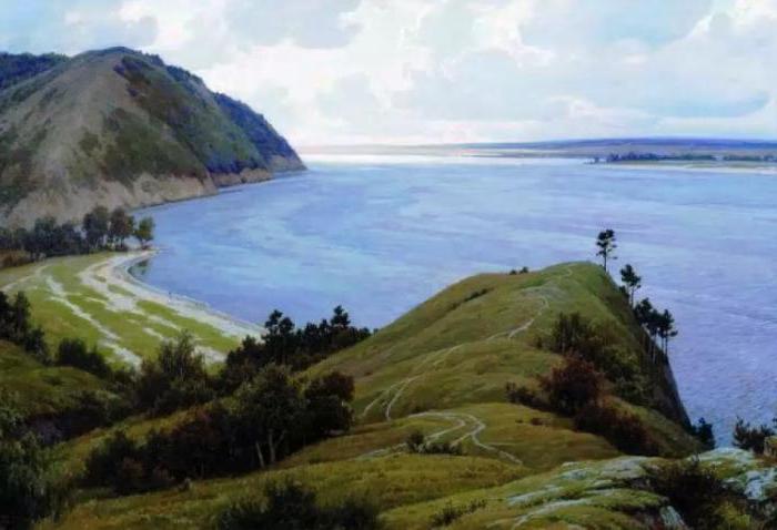 Крупнейшая река впадающая в Каспийское море