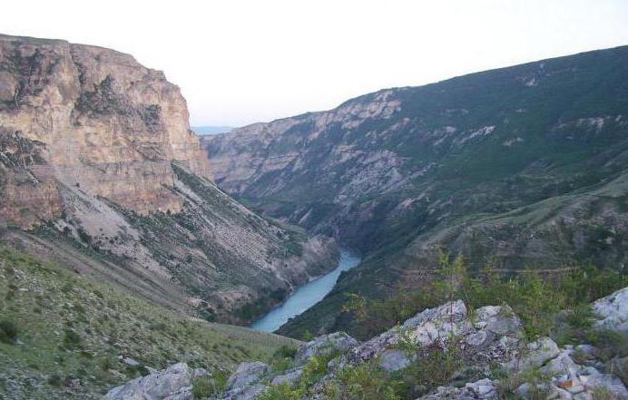 Сулак река