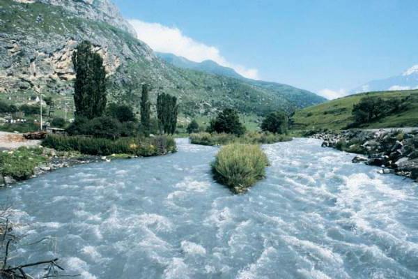 Устье реки Терек