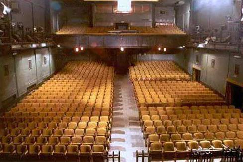 Lenkom hall scheme with places