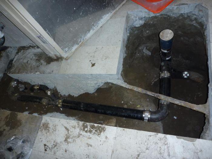 installation of sewage
