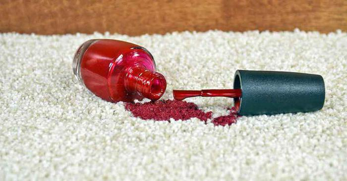 Как отстирать с одежды лак для ногтей в домашних условиях?