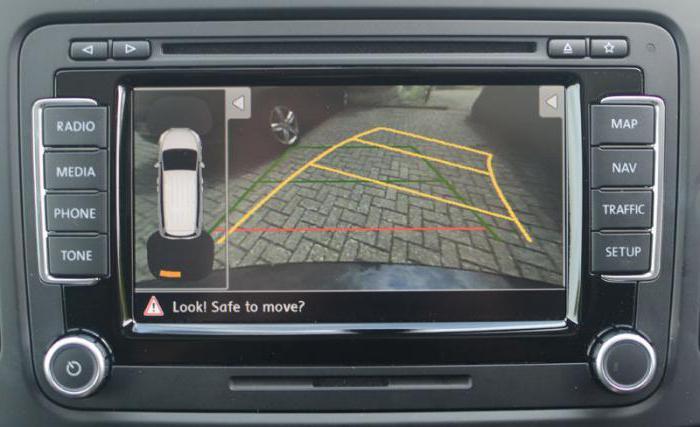 Камеры заднего вида с парковочными линиями: обзор, выбор, подключение