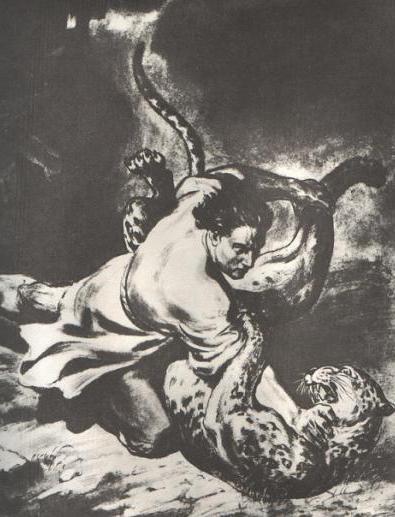 analysis of the work of Lermontov