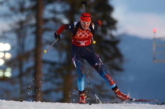Yana Romanova Biathlon