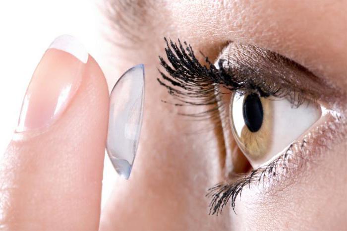 уход за линзами для глаз