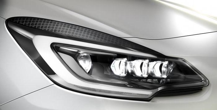 as marked xenon headlights