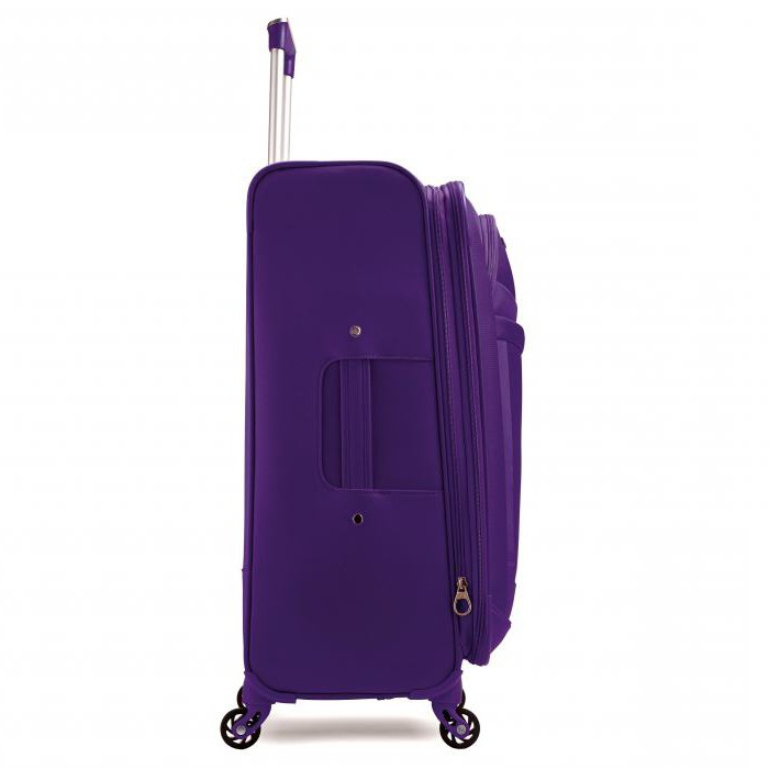 Plastic suitcases American Tourister reviews