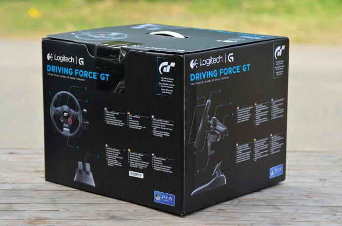 logitech driving force gt настройка