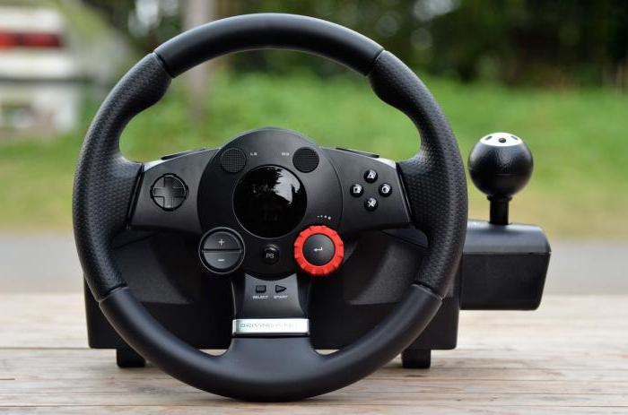 руль logitech driving force gt