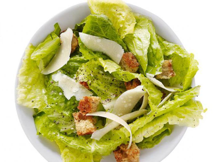 types of leafy salads